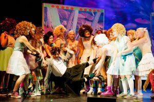 Die Zauberflöte 2017 - Tamino und die Damen