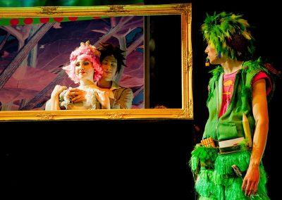 Die Zauberflöte 2017 - Tamino mit Pamina und Papageno