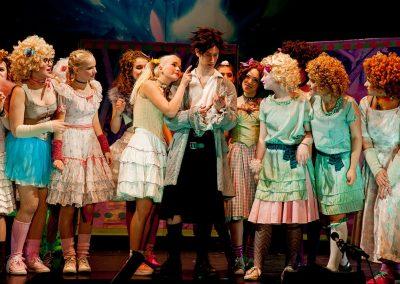 Die Zauberflöte 2017 - Tamino mit Damen
