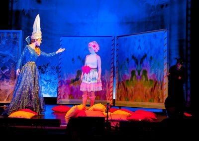 Die Zauberflöte 2017 - Königin der Nacht und Pamina