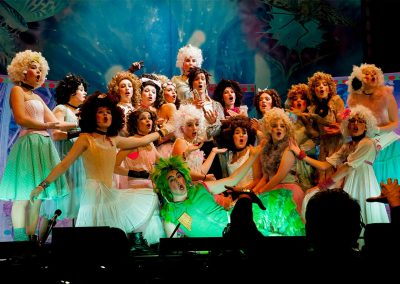 Die Zauberflöte 2016 - Die Damen mit Tamino und Papageno