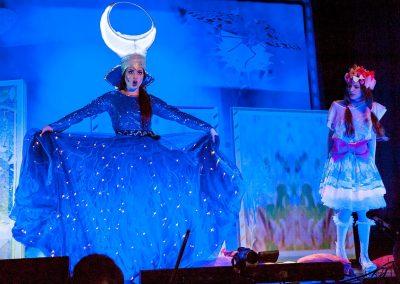 Die Zauberflöte 2016 - Die Königin der Nacht und Pamina